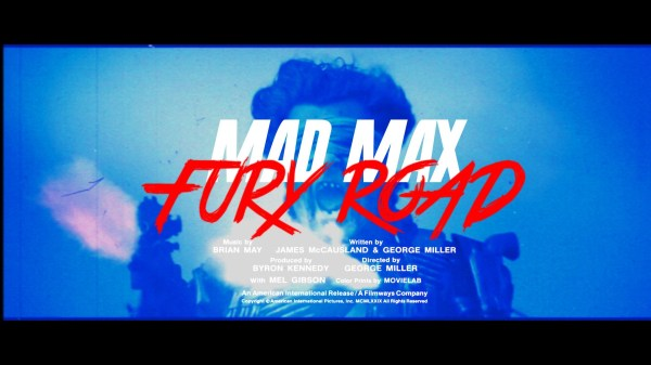 Mad Max: Fury Road '80s Grindhouse Trailer