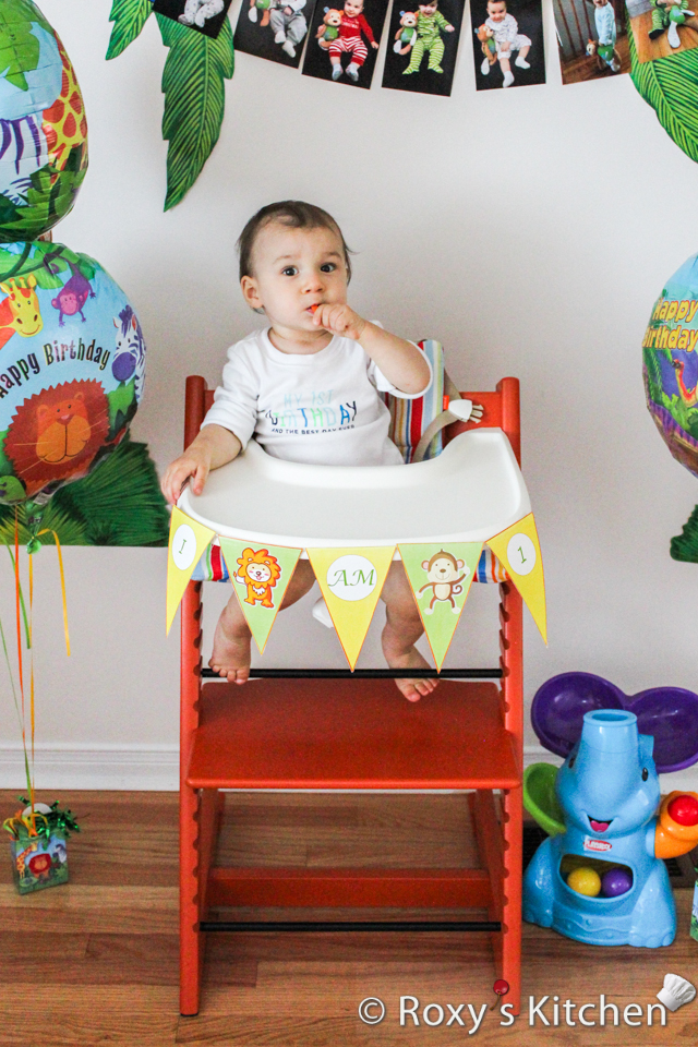 Safari / Jungle Themed First Birthday Party Part III \u2013 DIY - first birthday banner