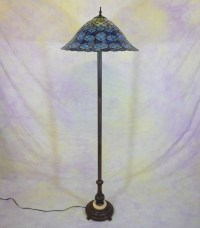 Peacock tiffany style floor lamp - Art deco - Tiffany ...