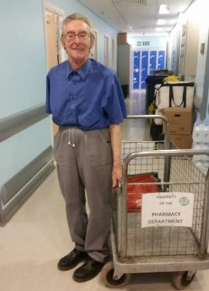 Porter retires after 48 years at Barnet Hospital News News