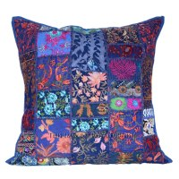 20x20 Inch Bohemian Patchwork Decorative & Accent Throw ...