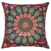 Blue Orange Throw Pillow ~ Acinaz.com for