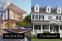 Difference Between Traditional and Modern Homes - Royal Homes