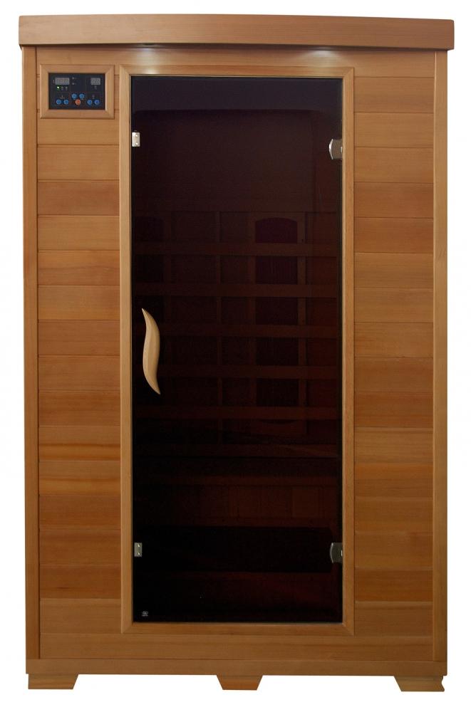 Coronado - Hemlock 2 Person Sauna With Ceramic Heaters Royal