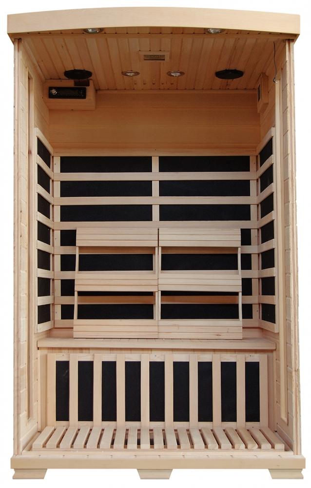 Coronado - Hemlock 2 Person Sauna With Carbon Heaters Royal