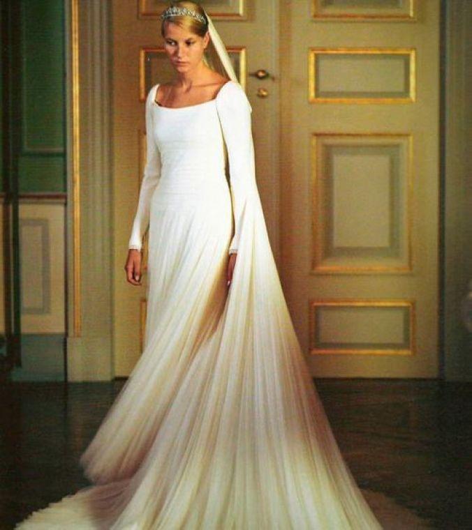 Mette-Marit Wedding Dress 3