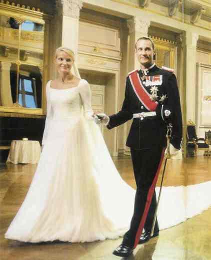 Mette-Marit Wedding Dress 4