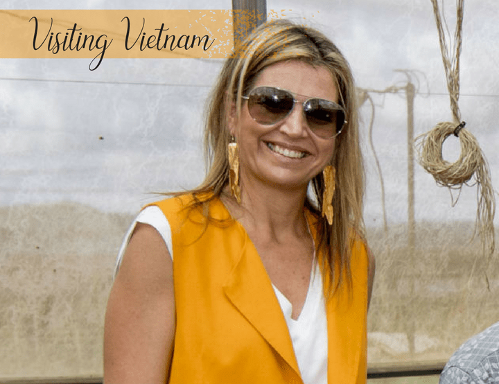 Queen Máxima Visited Vietnam to Discuss Access to Financial Services