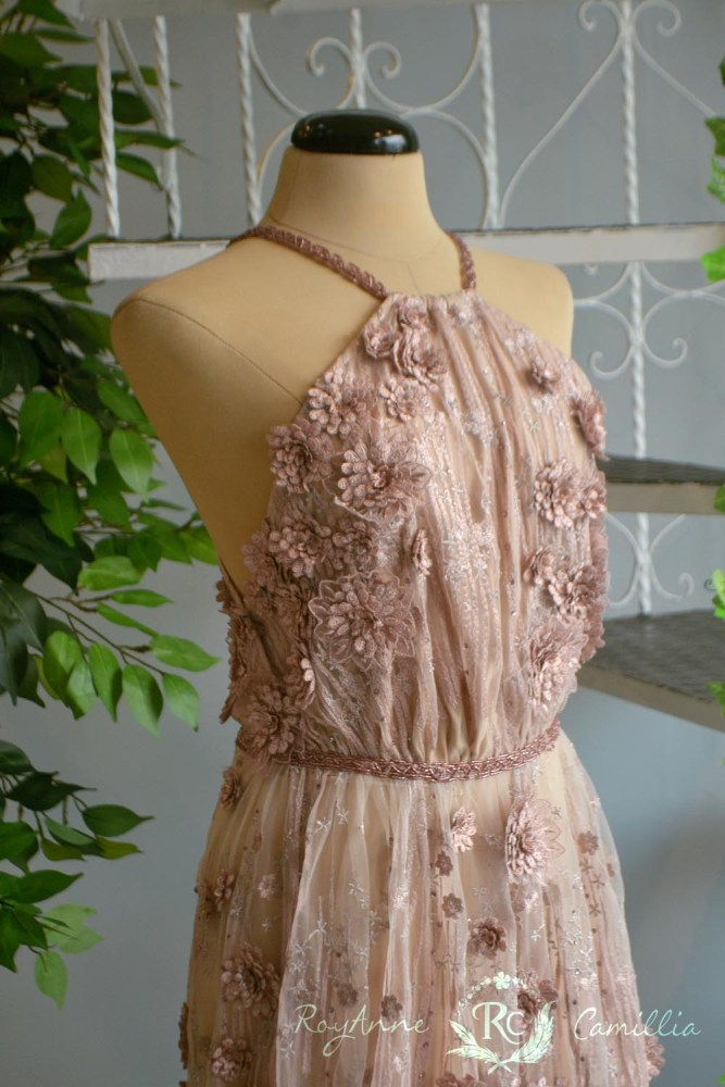 Rosie (old rose) - RoyAnne Camillia Couture- Bridal Gowns and Gown ...