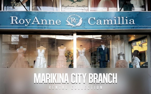 RoyAnne Camillia Marikina City branch, Metro Manila - offer Couture and Rentals for Bridal and Debut gowns in Manila