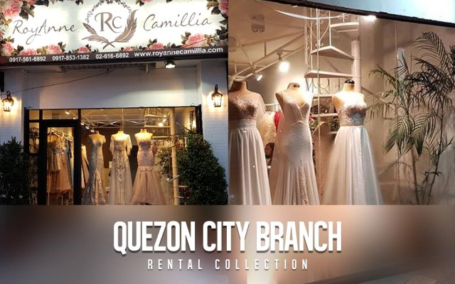 RoyAnne Camillia QC Quezon City branch, Metro Manila - offer Couture and Rentals for Bridal and Debut gowns in Manila