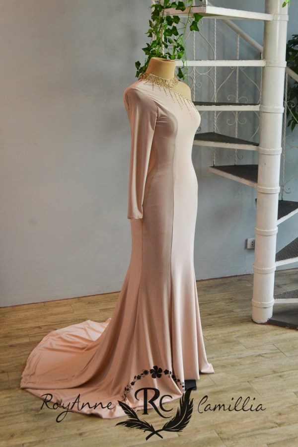 pink rental gown by royanne camillia the best gowns in manila Philippines