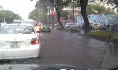 Flooding in Sai Gon