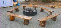 Wood Working Project: Fire Pit Bench DIY | Roy Home Design