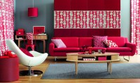 Red Living Room Ideas to Decorate Modern Living Room Sets ...