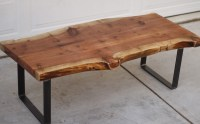Raw Edge Coffee Table Furniture | Roy Home Design