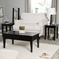 Black Coffee And End Table Sets Furniture | Roy Home Design