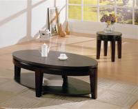 Oval Coffee Table Sets Decorating Ideas | Roy Home Design