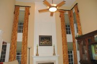 Two Story Window Treatments Ideas | Roy Home Design