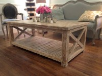 White Washed Wood Coffee Table Furniture | Roy Home Design