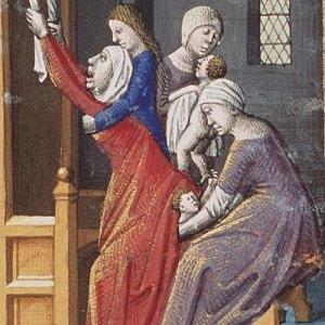 Średniowieczny poród