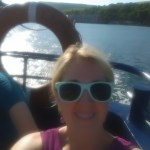 On the ferry to Whiddy Island