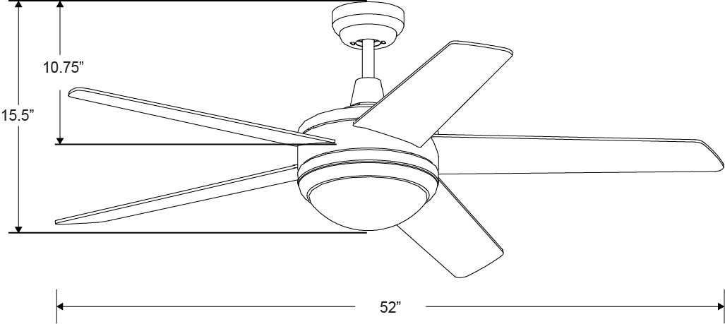 craftsman 5 wood blade ceiling fan wiring