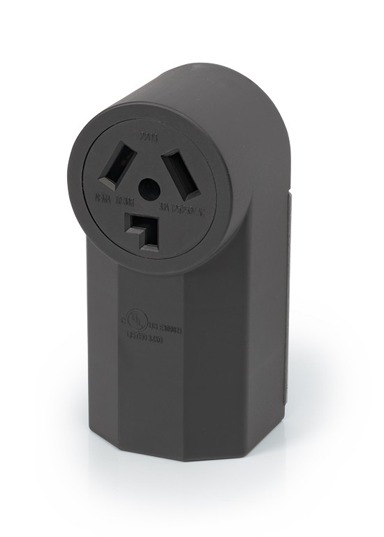 RPP 30A 3-wire Non-Grounding Receptacle, Surface Mount - Power