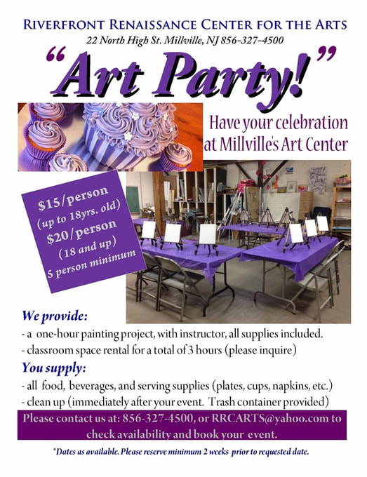 venue space flyer - Brucebrianwilliams - party rental flyer