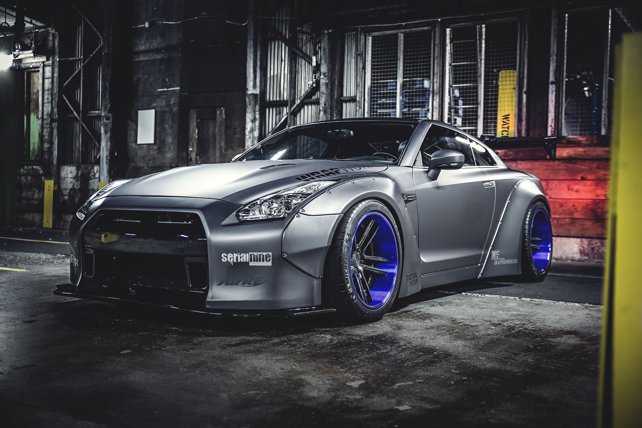 Hd Tune Up Cars Wallpaper 2013 Nissan Gt R By Liberty Walk Front Photo Airrex Air