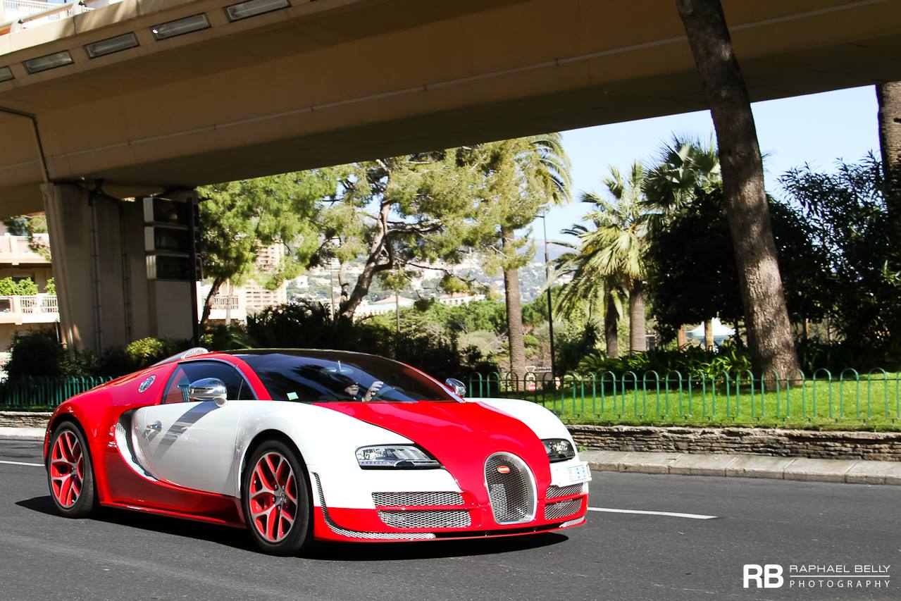 Wallpaper Mobil Sport Hd Bugatti Veyron In White And Red Color Front Photo Size