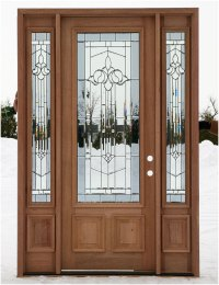 Wooden Front Doors With Sidelights | Interior Design Ideas