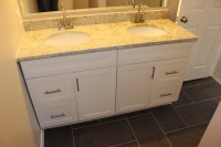 Traditional White Shaker Bathroom Vanities - RTA Cabinet Store