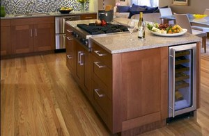 Kitchen Island With Wine Storage And Seating