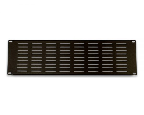 3u 19 Inches Vented Rack Mount Blank Panel Plate