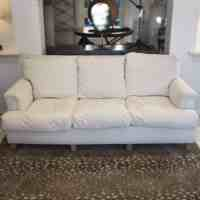 French Club-Style Sofa with Down Cushions - RT Facts