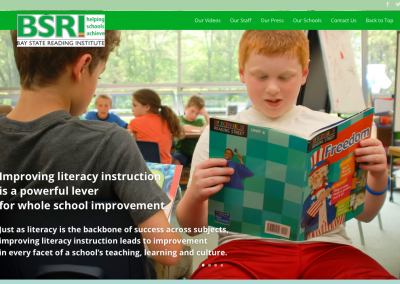 Bay State Reading Institute Website