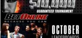 99c Buy-in Weekend $10,000 GTD BetOnline Poker Tournament