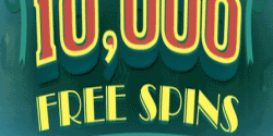 10 lucky players will win 1000 free spins each in StarBurst at CasinoLuck!