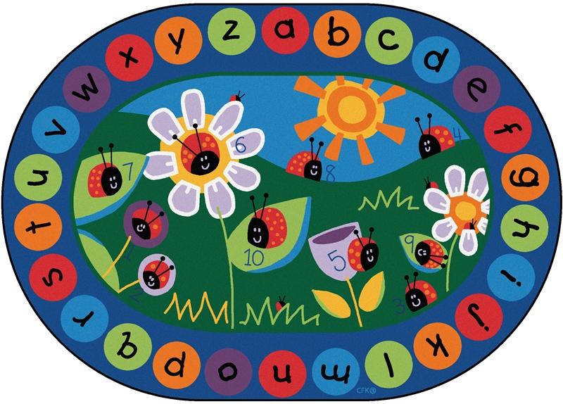 Ladybug Circletime Rug Cfk200x Carpets For Kids