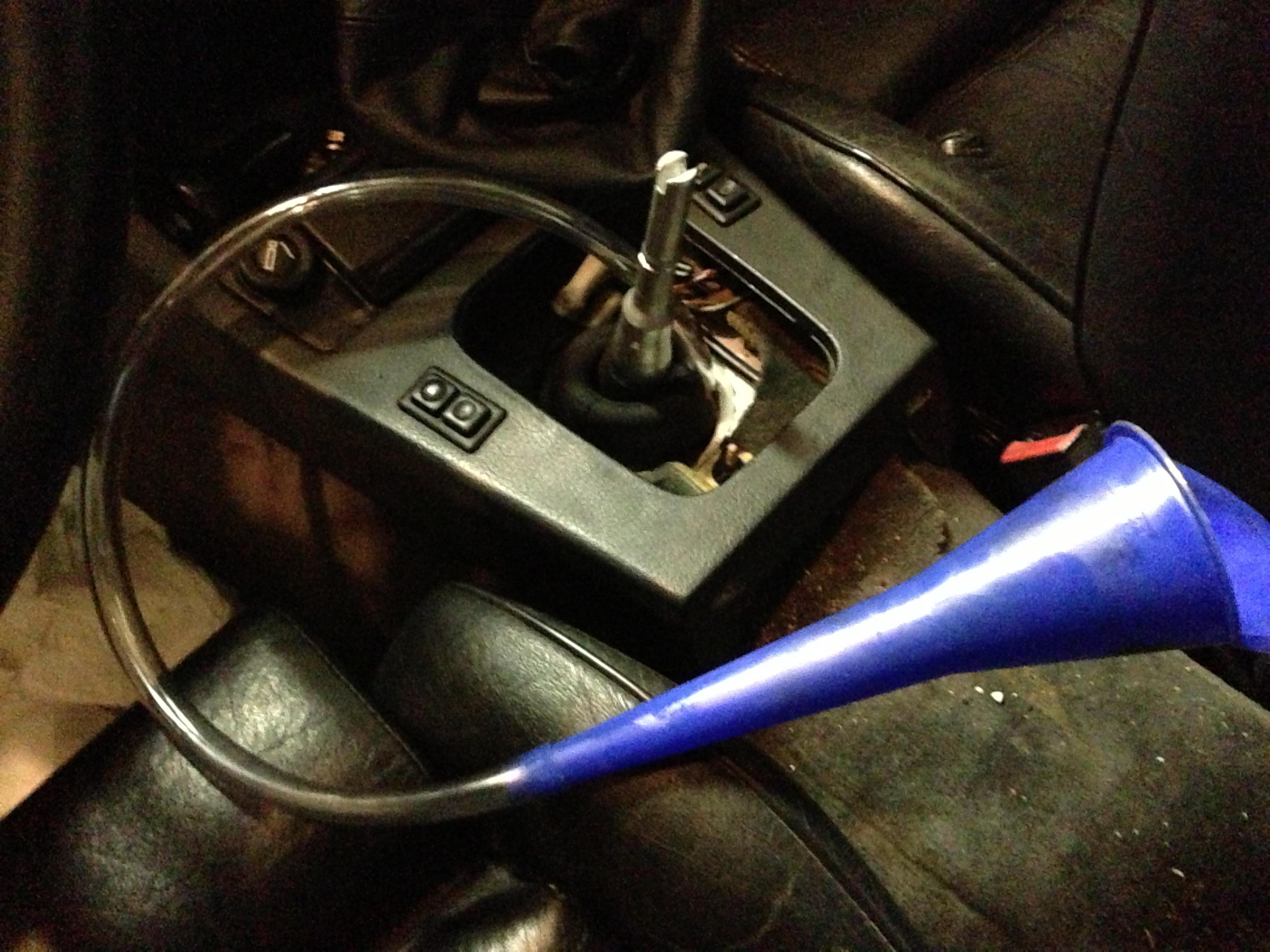 e30 manual transmission fluid