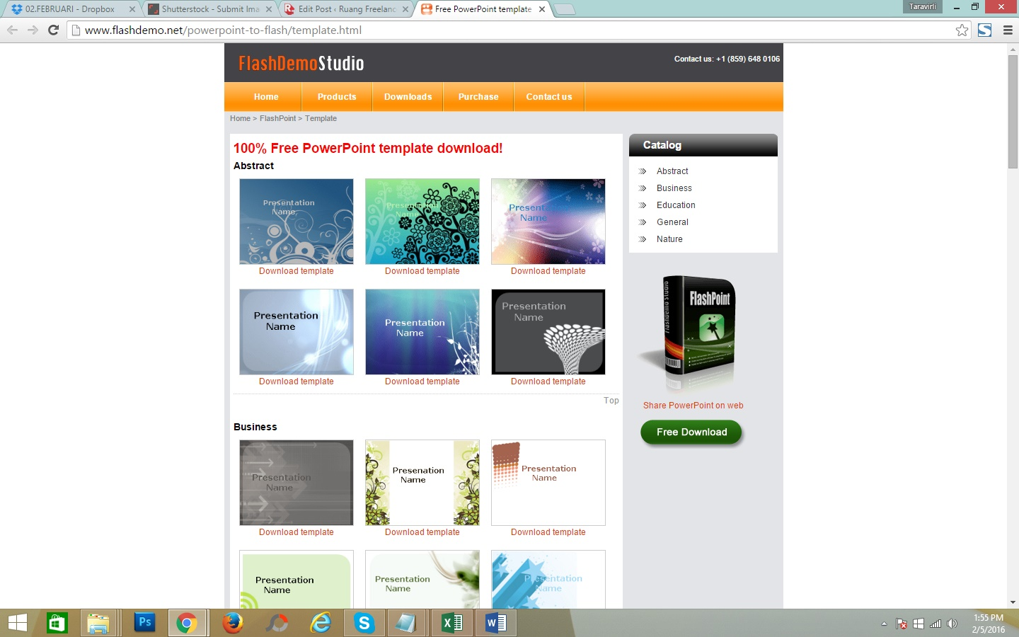Download Template Powerpoint Gratis
