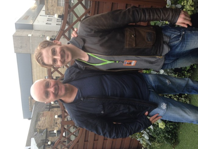 IRVINE WELSH AND RUARAIDH MURRAY EDFRINGE 2016