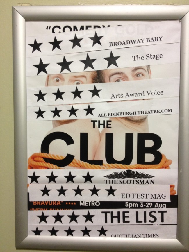 THE CLUB EDFRINGE 2016