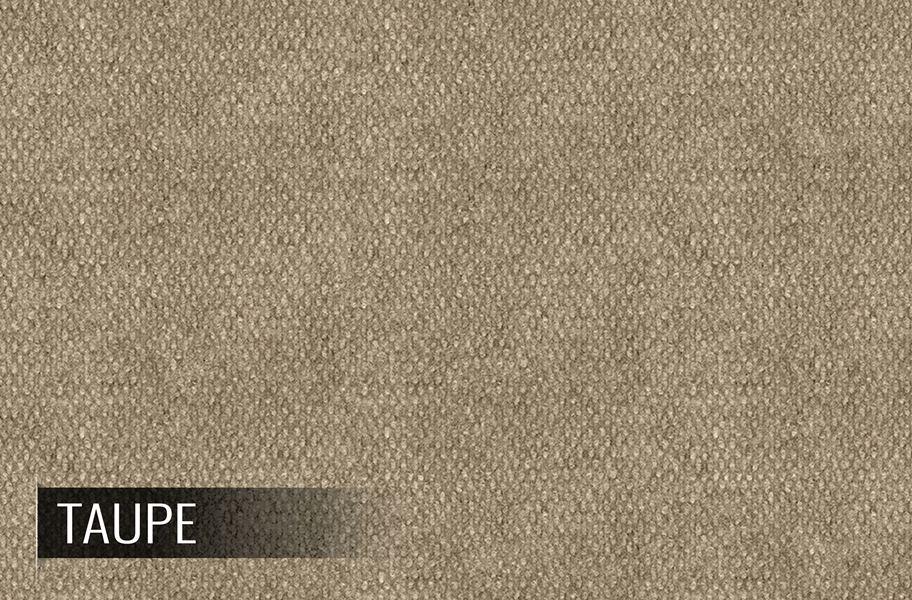 Hobnail Taupe Indoor Outdoor Area Rug Versatile Utility Mat