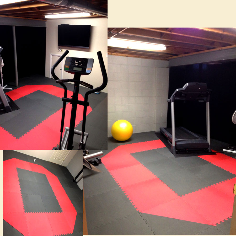 Home Gym Mats Over Carpet Floor Matttroy