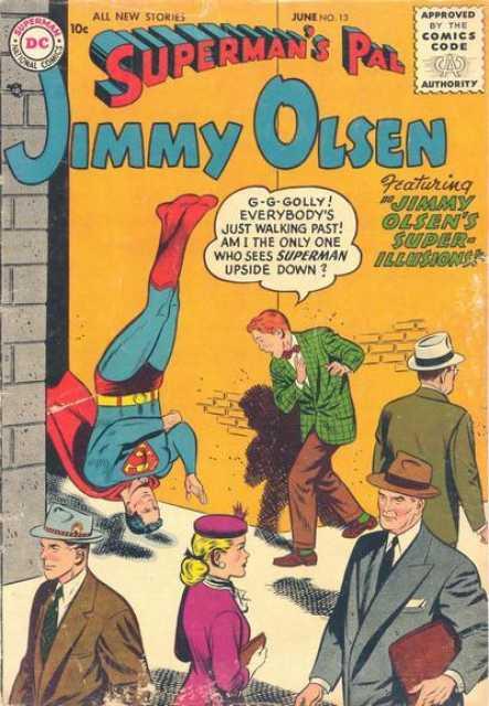 One of Superman's hilarious psychological pranks!