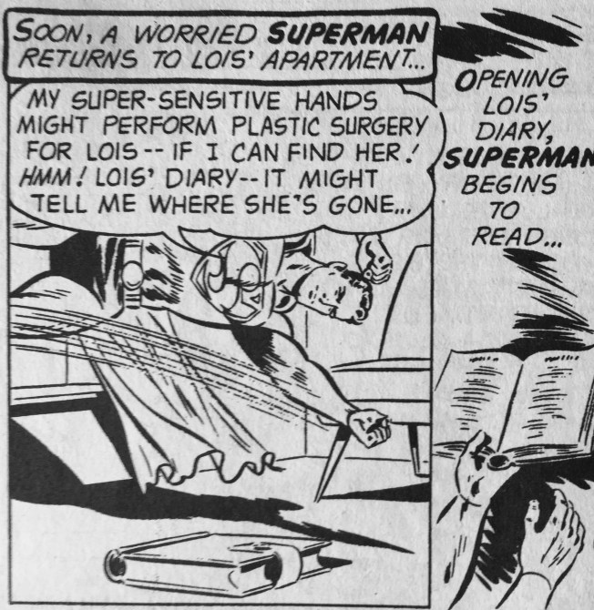"""Never mind that you wanted to perform plastic surgery on her with your """"super sensitive"""" hands."""