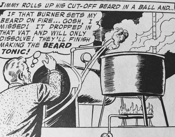 Careful. I hear someone put dissolved beard in the tonic tonight.
