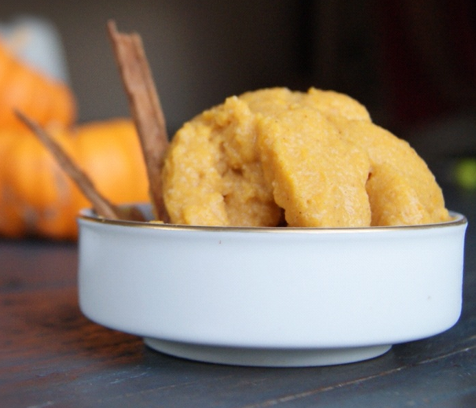 Paleo Pumpkin Pie Ice Cream